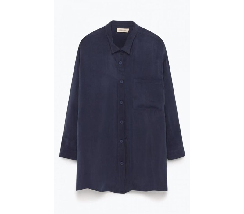 Meadow Carbon Shirt Navy