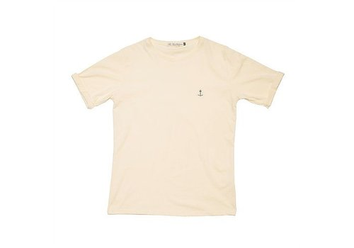 The Blue Uniform Embo Tee Light Yellow