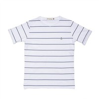 Embo Tee Navy Striped