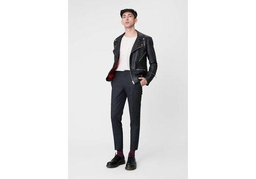 Deadwood Vinnie Jacket Black Leather