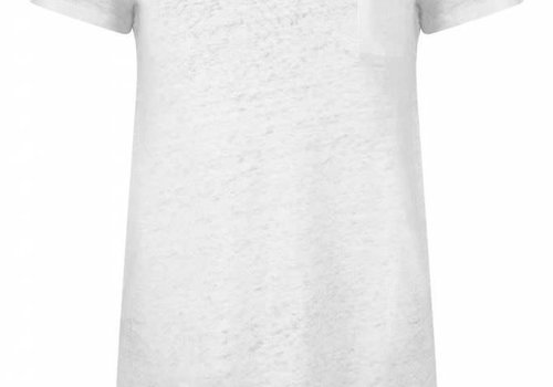 Lois Jeans Airy Pocket Tee Linen Off White