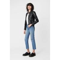 Nevada Leather Jacket Black