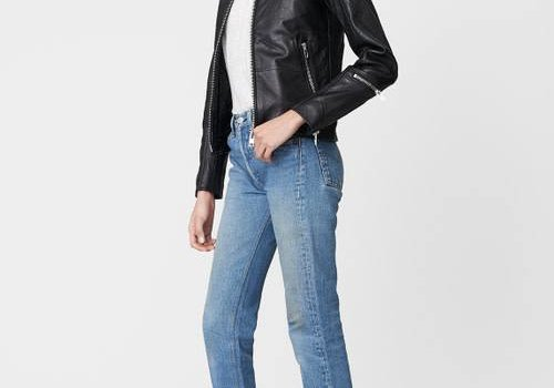 Deadwood Nevada Leather Jacket Black
