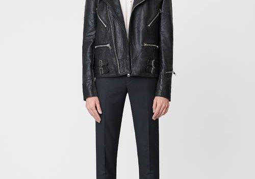 Deadwood Taylor Black Leather Jacket