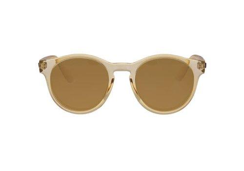 Le Specs Hey Macarena Milky Tortoise