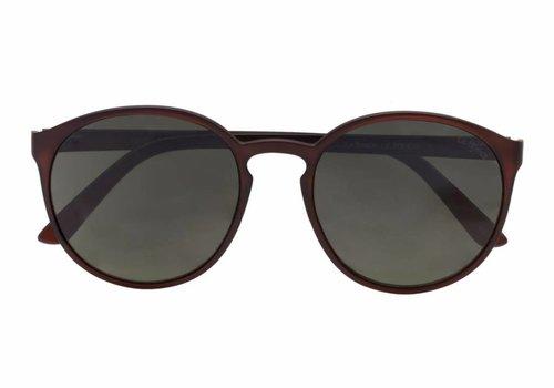 Le Specs Swizzle Mat Dark Brown