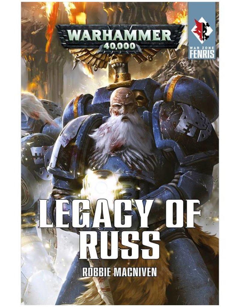 Games Workshop War Zone Fenris:  Legacy Of Russ (HB)