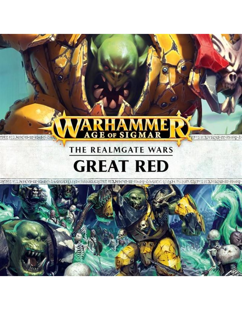 Games Workshop Realmgate Wars:  The Great Red (AUDIOBOOK)