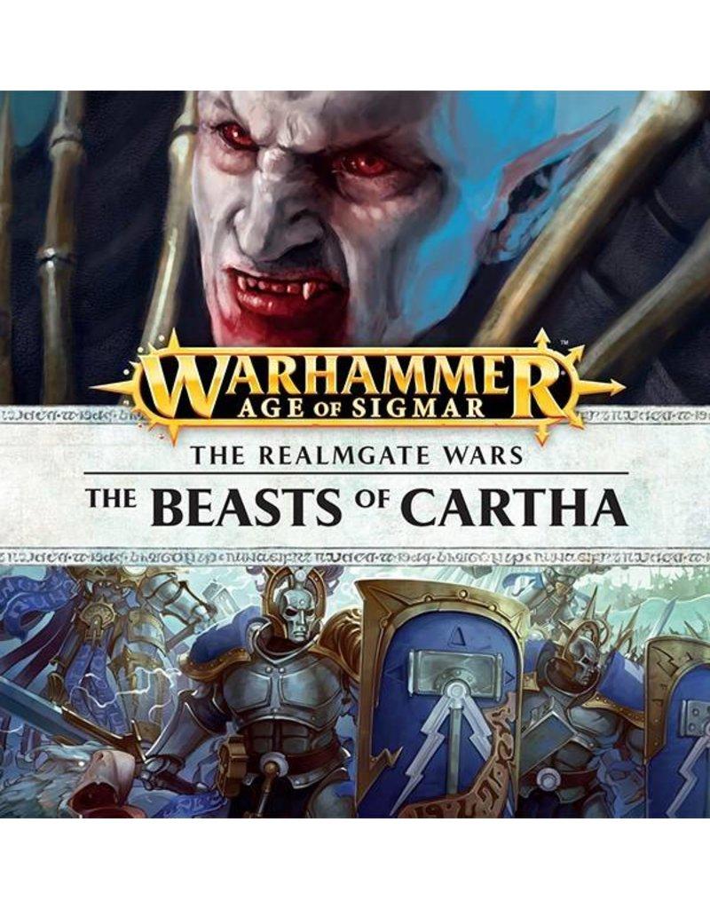 Games Workshop Realmgate Wars:  The Beasts Of Cartha (AUDIOBOOK)