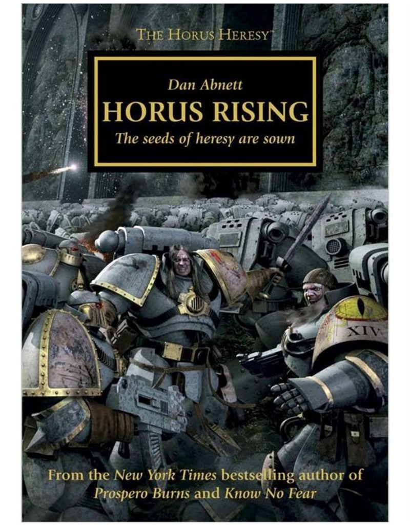 Games Workshop Horus Heresy:  Horus Rising (HB)