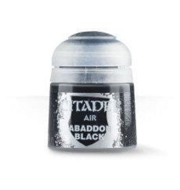 Citadel Airbrush:  Abaddon Black
