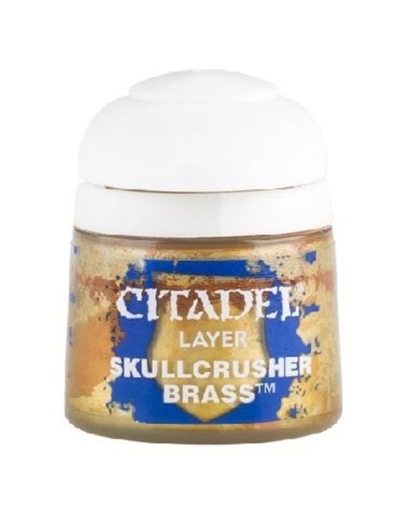 Citadel Layer: Skullcrusher Brass 12ml