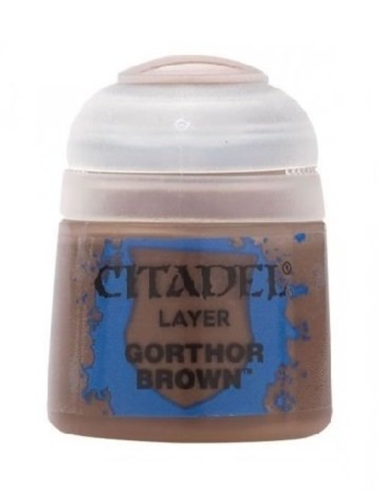 Citadel Layer: Gorthor Brown 12ml