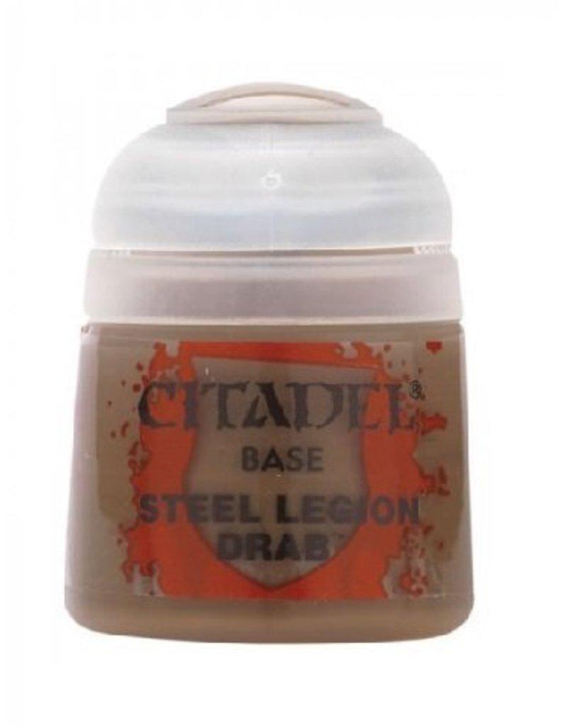 Citadel Base: Steel Legion Drab 12ml