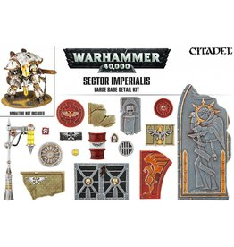 Citadel Warhammer 40k: SECTOR IMPERIALIS LARGE BASE  DETAIL KIT