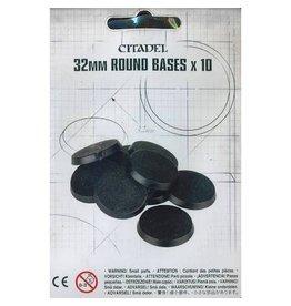 Citadel CITADEL 32mm ROUND BASES x10