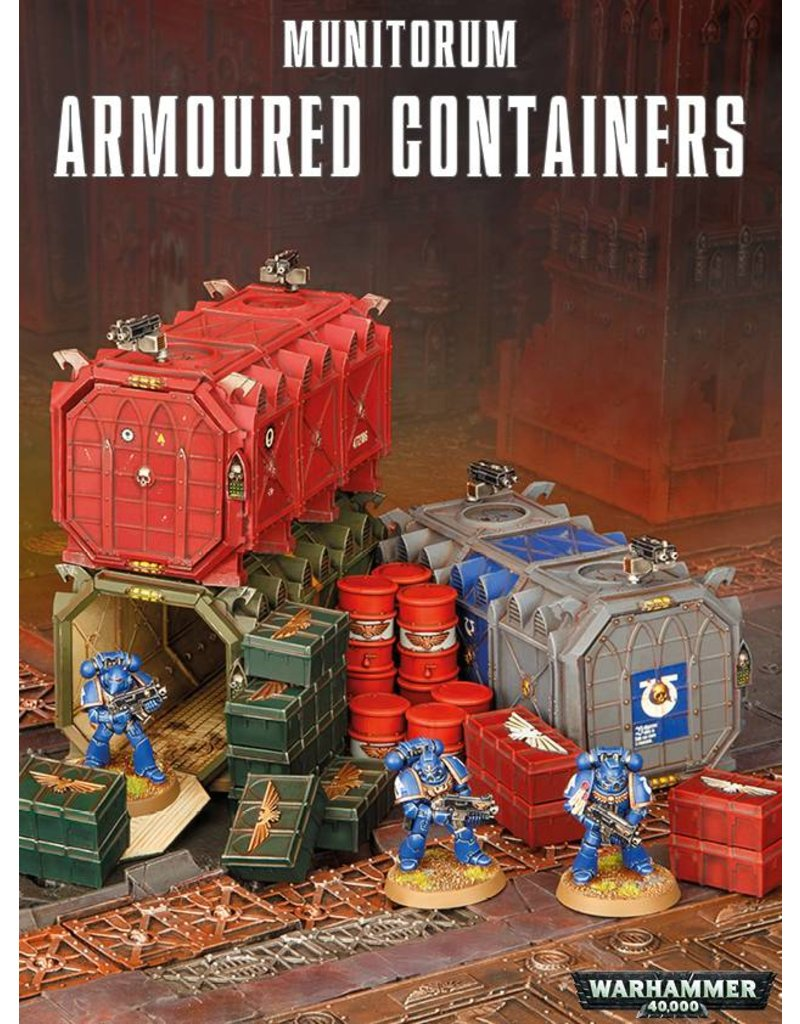 Citadel Munitorium Armoured Containers