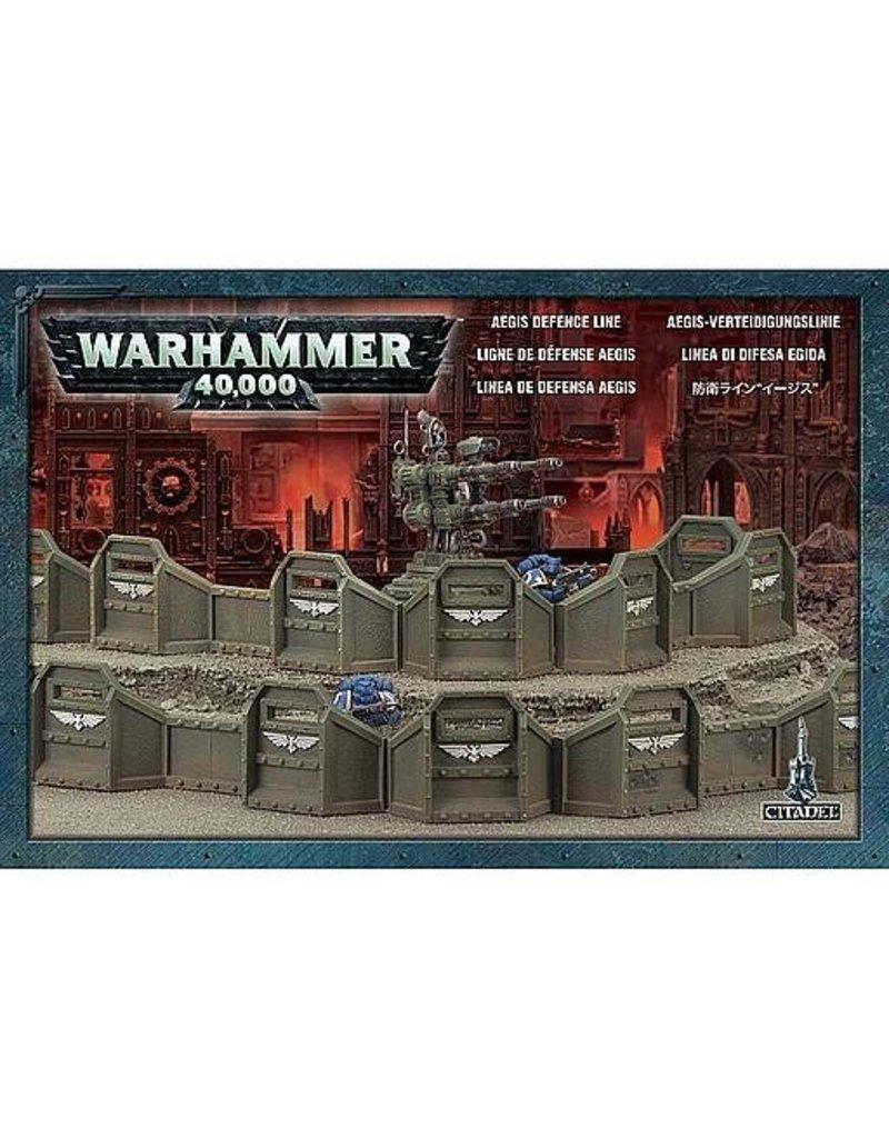 Citadel Warhammer 40k Aegis Defence Line