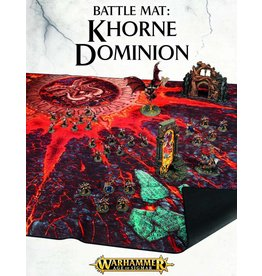 Citadel A.O.S BATTLE MAT:  KHORNE DOMINION