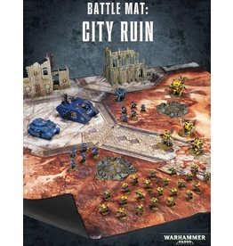 Citadel WARHAMMER 40000 BATTLE MAT:  CITY RUIN