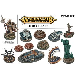 Citadel AGE OF SIGMAR HERO BASES
