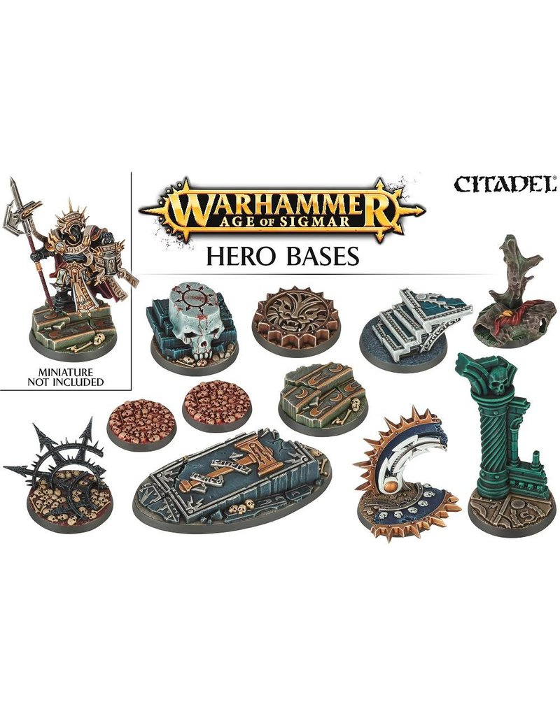 Citadel Age Of Sigmar Hero Bases