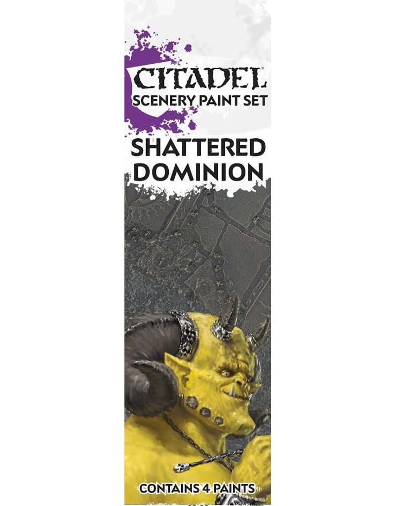 Citadel Age Of Sigmar Shattered Dominion Paint Set