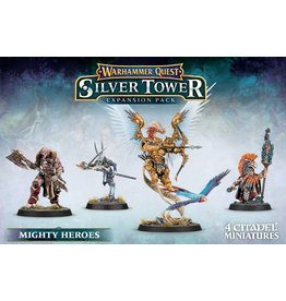 Games Workshop WHQ:  SILVER TOWER:  MIGHTY HEROES