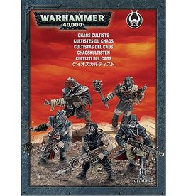 Games Workshop WARHAMMER 40K CHAOS CULTISTS