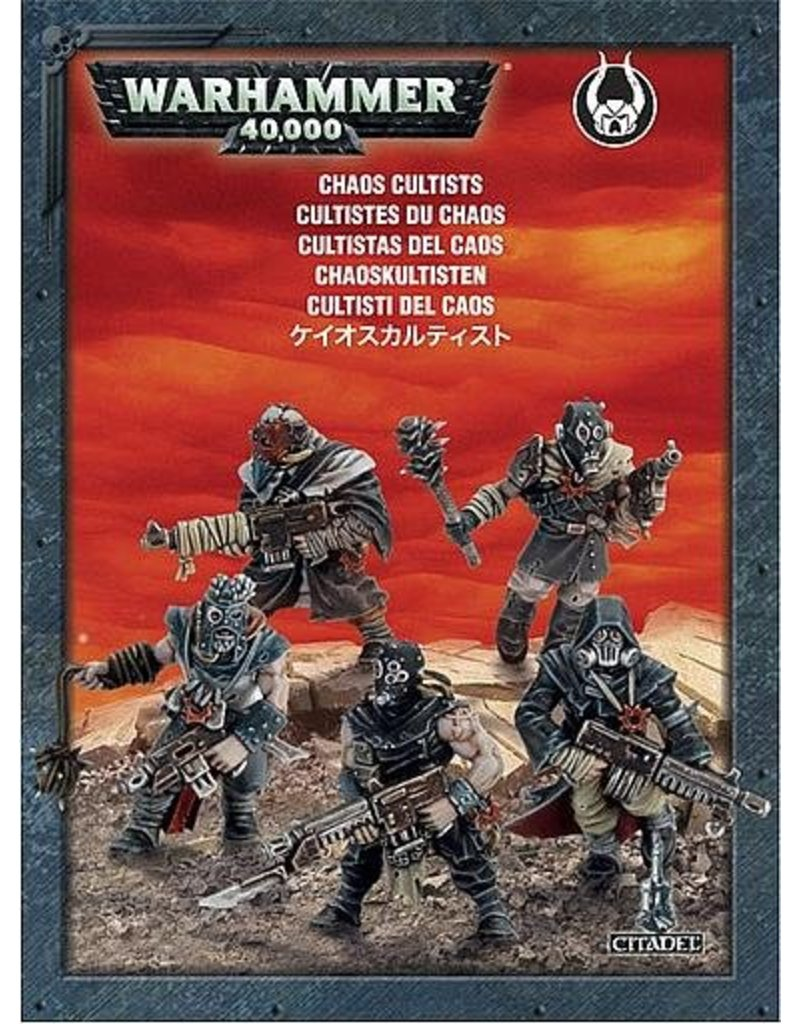 Games Workshop Push-Fit Chaos Cultists Pack