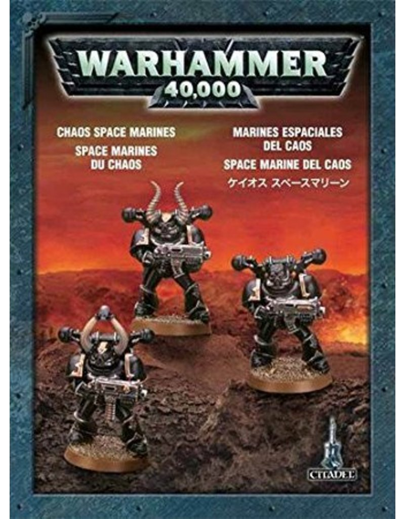 Games Workshop Push-Fit Chaos Space Marines Pack