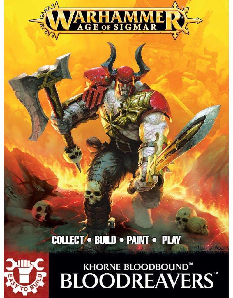 Games Workshop Easy To Build: Khorne Bloodbound Bloodreavers