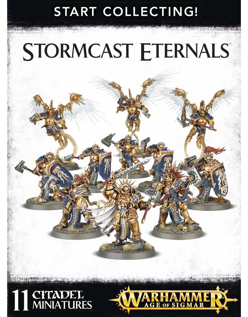 Games Workshop Start Collecting! Stormcast Eternals Box Set