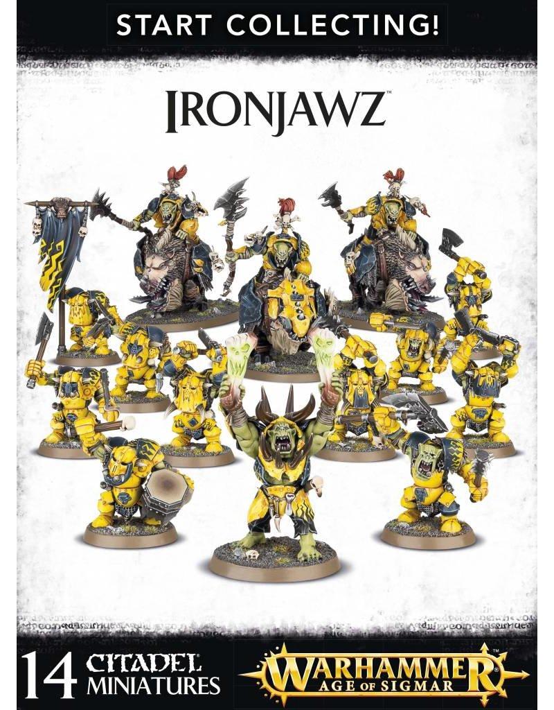 Games Workshop Start Collecting! Ironjawz Orruks