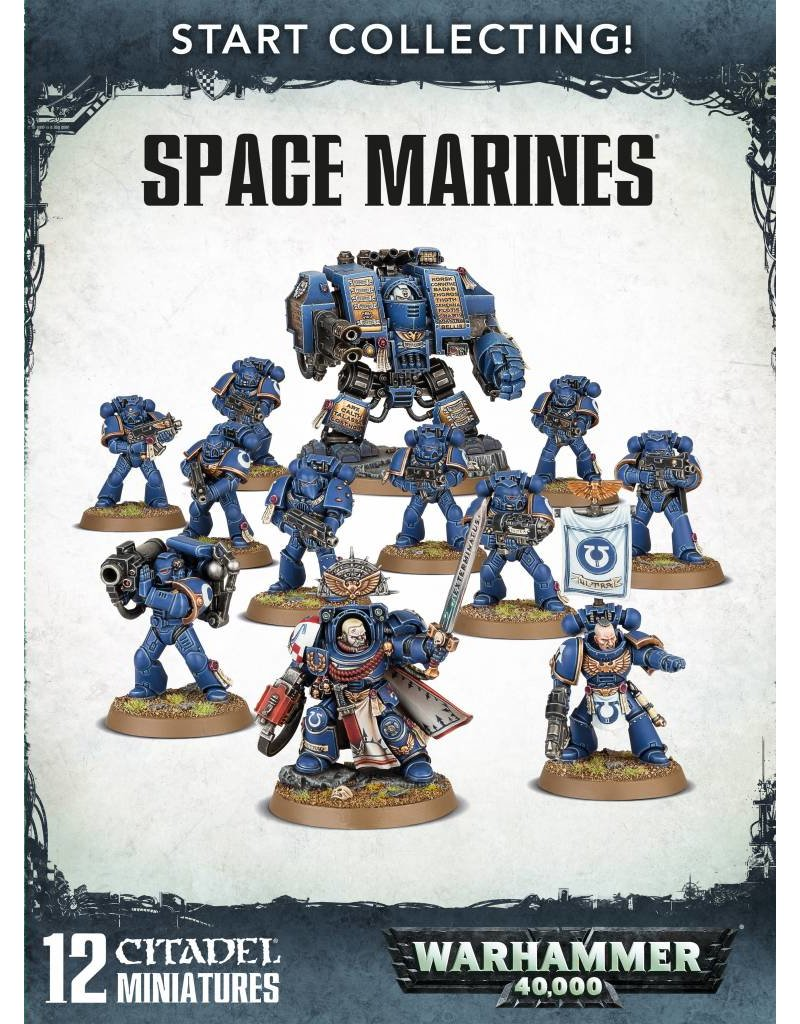 Games Workshop Start Collecting! Adeptus Astartes
