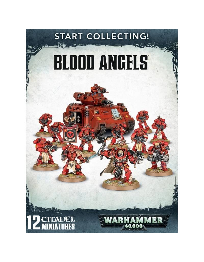 Games Workshop Start Collecting! Blood Angels Marines