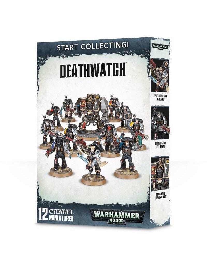 Games Workshop Start Collecting! Deathwatch Marines