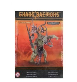 Games Workshop CHAOS DAEMONS HERALD OF NURGLE