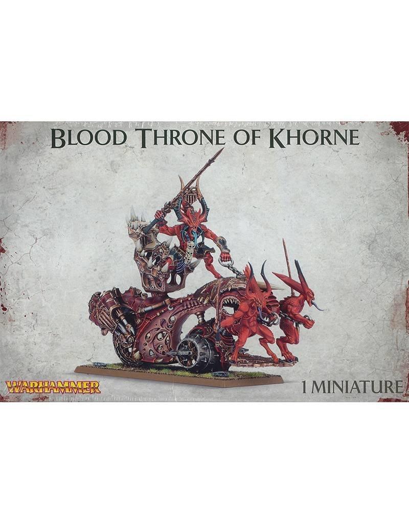 Games Workshop Chaos Daemons Bloodthrone Of Khorne