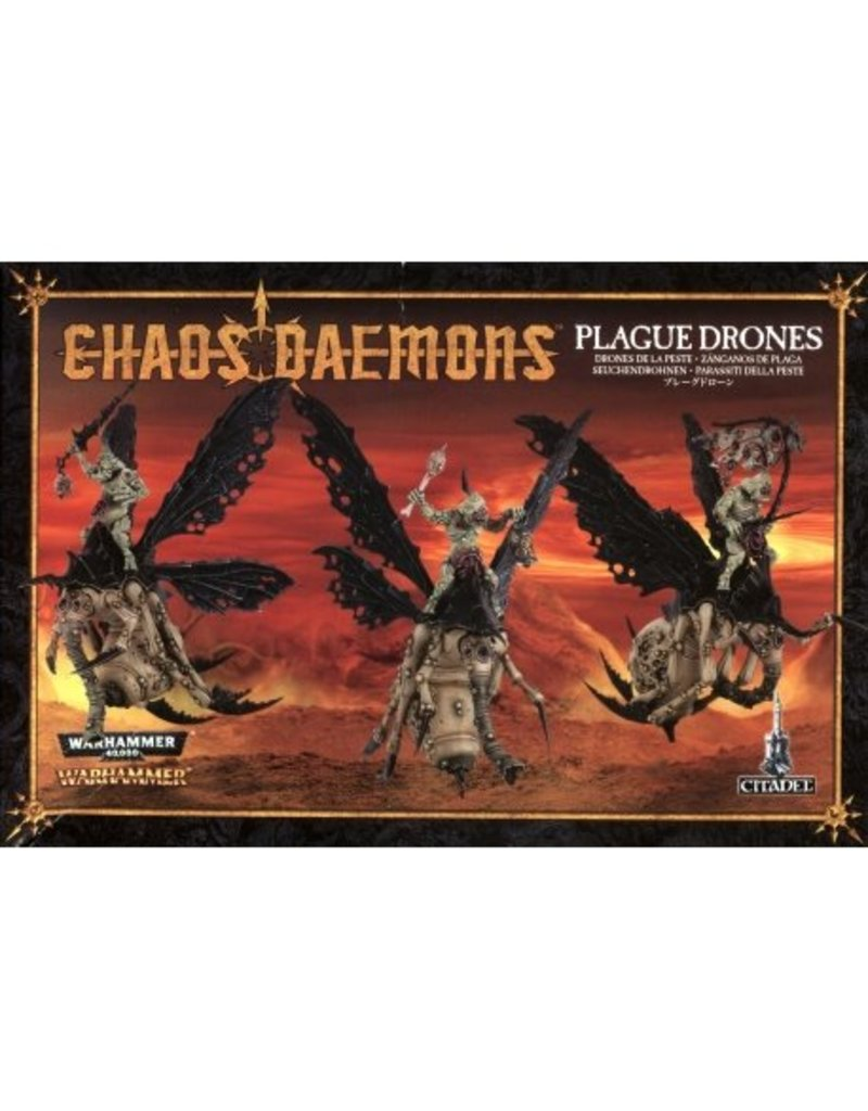 Games Workshop Chaos Daemons Plague Drones Of Nurgle