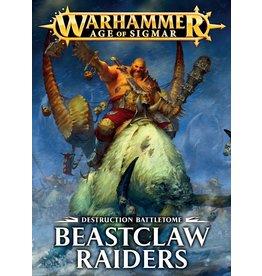 Games Workshop BATTLETOME:  BEASTCLAW RAIDERS (SB) (EN)