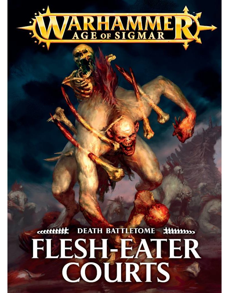 Games Workshop Battletome:  Flesh-Eater Courts (HB) (EN)