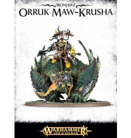 Games Workshop IRONJAWZ ORRUK MAW-KRUSHA