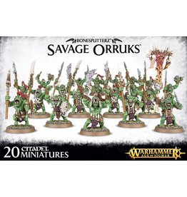 Games Workshop Savage Orruks