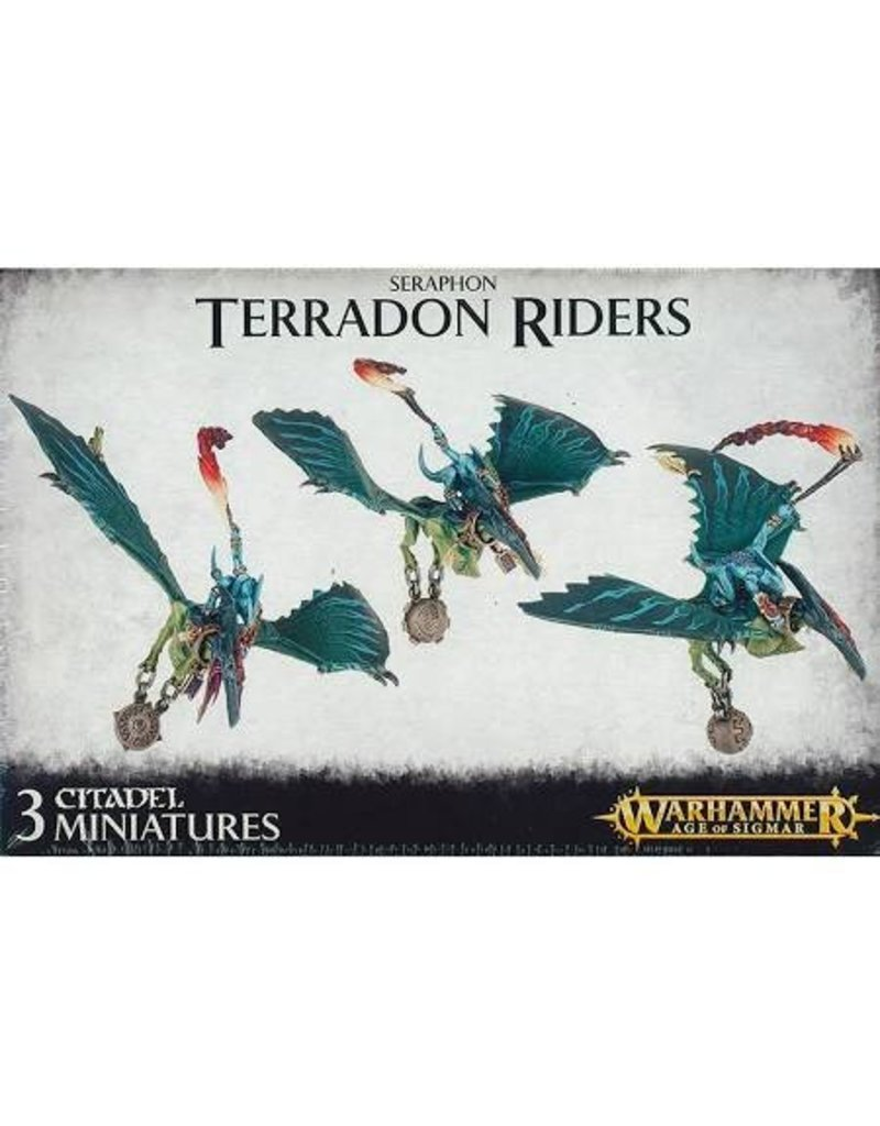Games Workshop Seraphon Terradon Riders