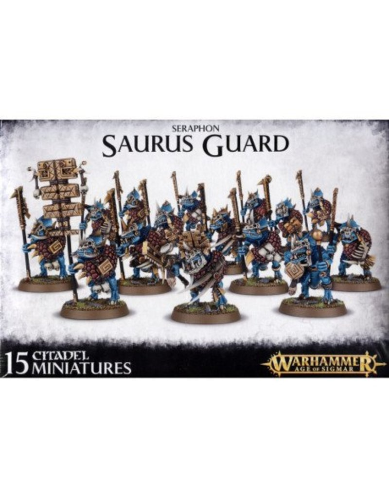 Games Workshop Seraphon Saurus Guard