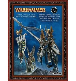 Games Workshop HIGH ELF PRINCE AND NOBLE