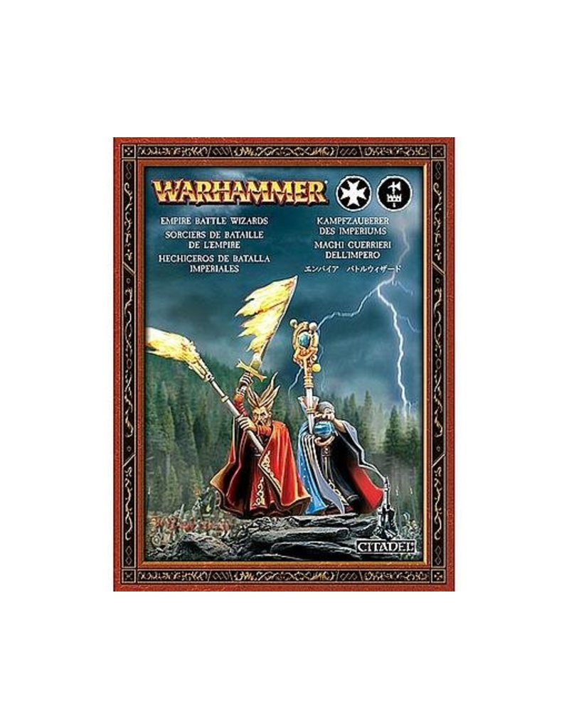 Games Workshop Free People Battle Wizards