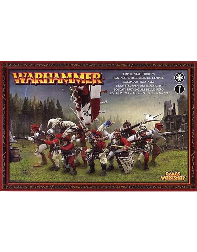 Games Workshop Free People Empire State Troops