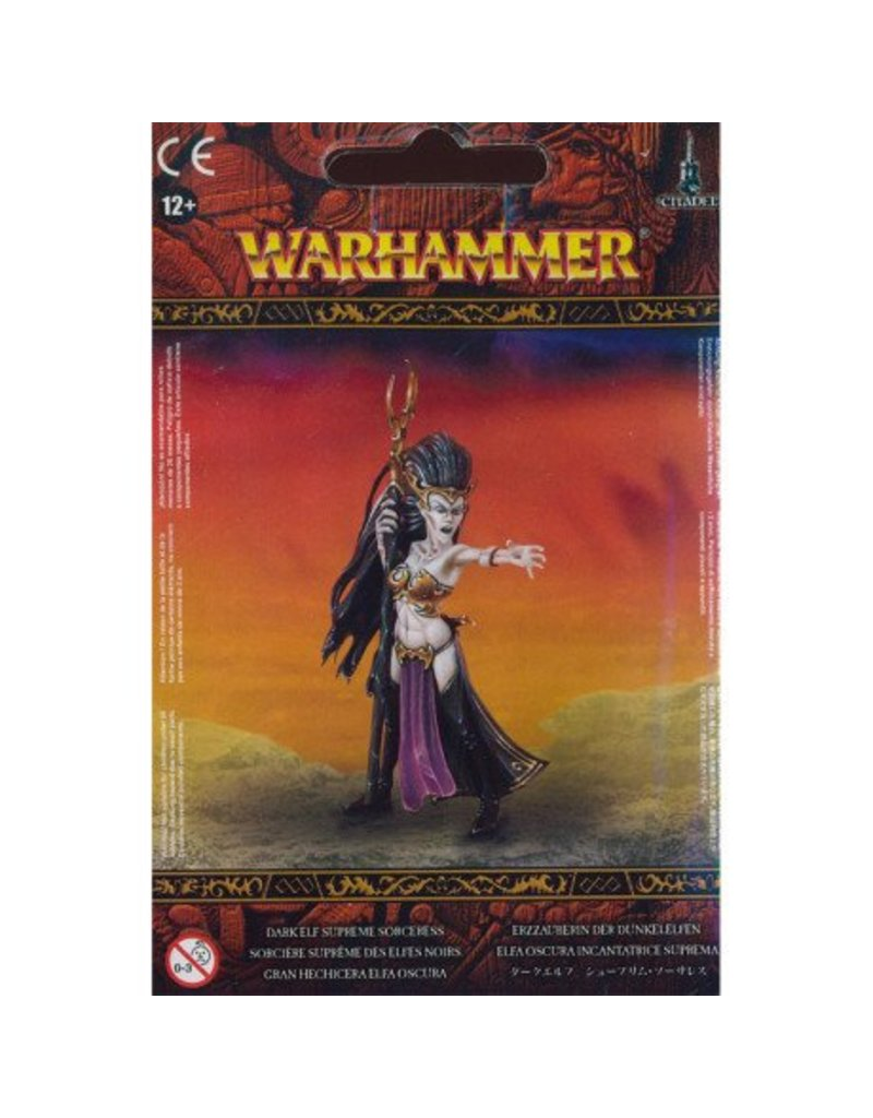 Games Workshop Dark Aelves Supreme Sorceress